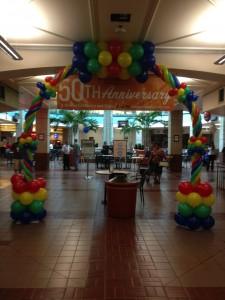 Telemundo Balloon Arch
