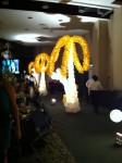 Balloon trees - lighted