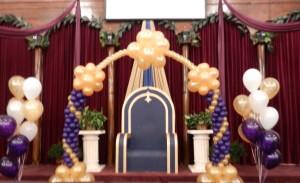 balloon decor - balloon arch