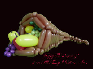 custom-built balloon decor - Balloon Cornucopia