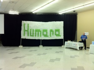 Balloon Wall - Humana