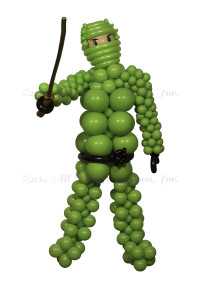 balloon decor - Ninja lego character