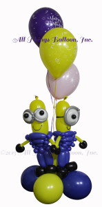 balloon decor - Minions Delivery Piece for kid's birthday event