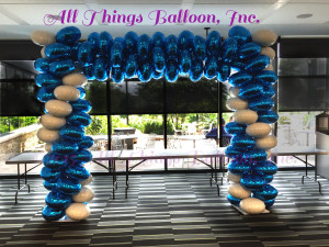 balloon decor; balloon arch; balloon foil arch