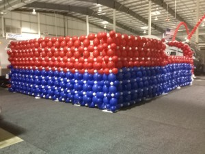 Balloon Wall - San Antonio RV Show