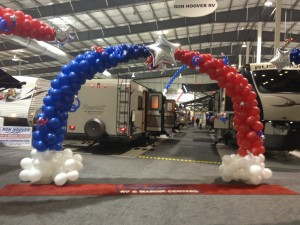 Balloon Arch - RV Show