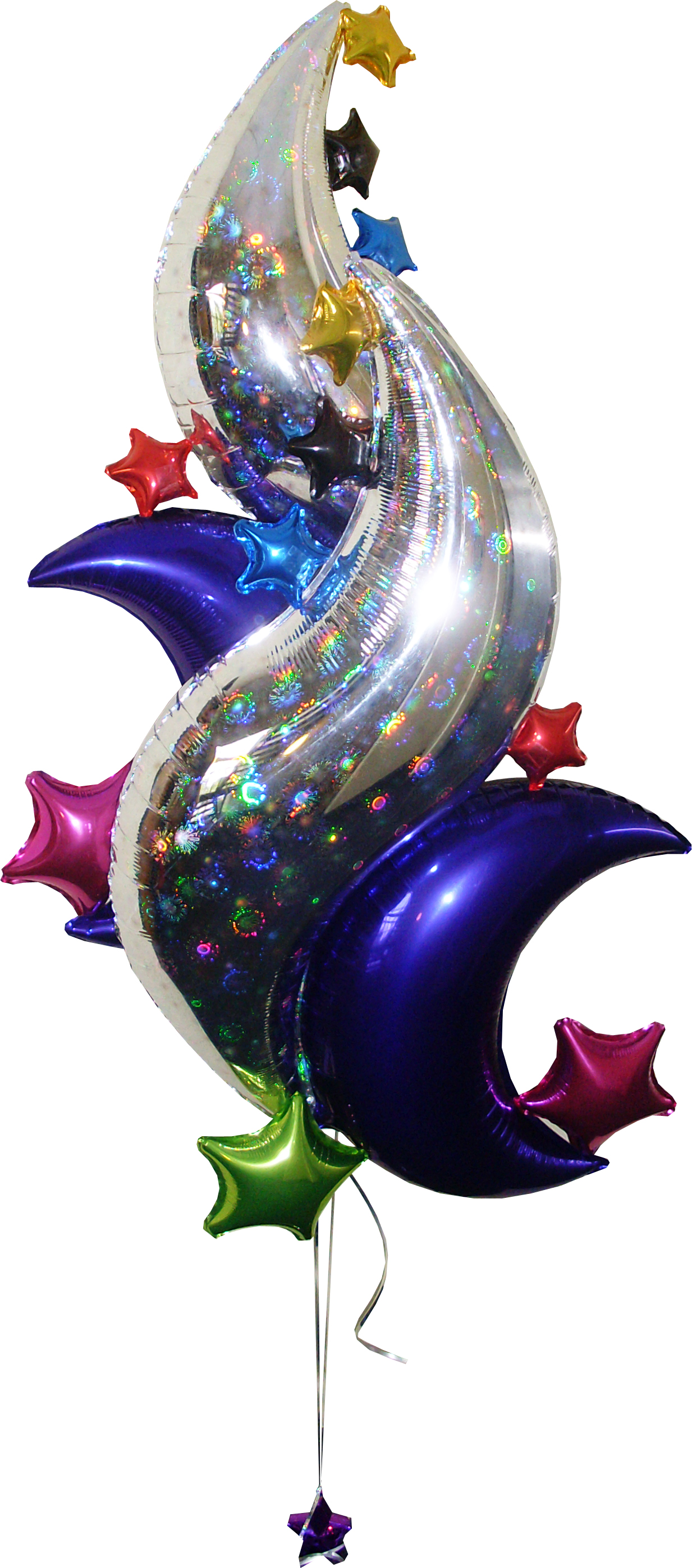 Artistic foil designs balloon decor san antonio for 7 star balloon decoration