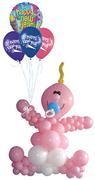 balloon decor: Baby Shower - baby balloon