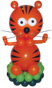 balloon decorator: Baby Shower Balloon Tiger