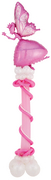 "balloon decor: ""It's a Girl"" Pink Fairy centerpiece"
