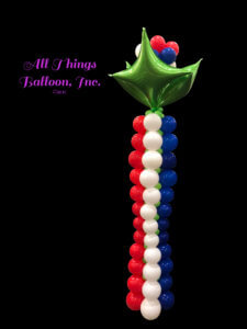 balloon decor - balloon column