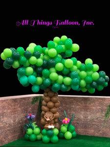 balloon decorator - balloon tree