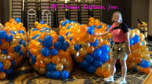 balloon decorator - 2000 balloon drop