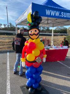 Balloon Decor - Toy Soldier balloon column